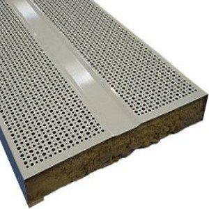 absorbacion acustica metal perforacion